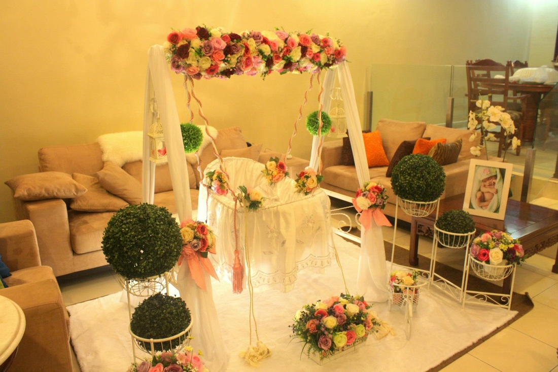 Aqiqah fl event decor for Art decoration
